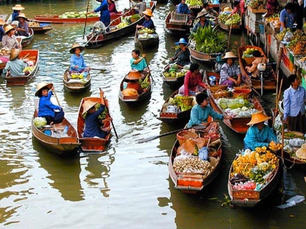 Cẩm nang và kinh nghiệm du lịch đường sông, chợ nổi