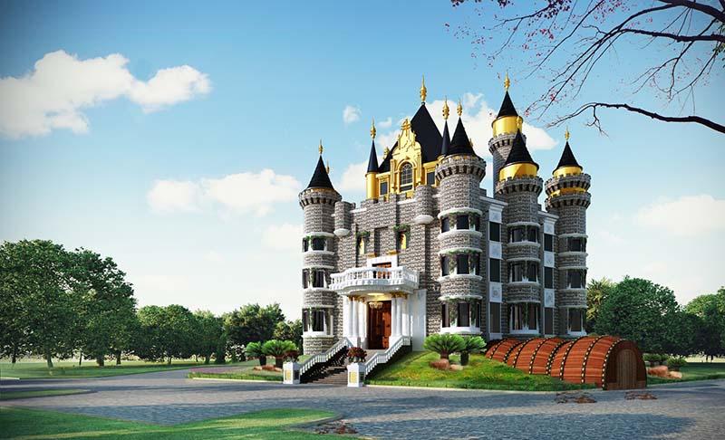 9 lâu đài với kiến trúc đẹp nhất thế giới
