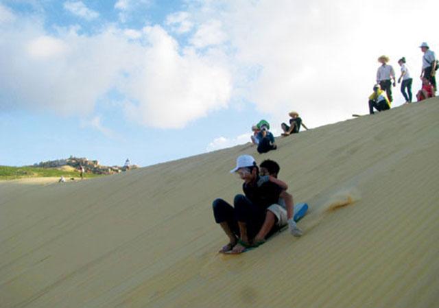 Trượt cát ở Quy Nhơn